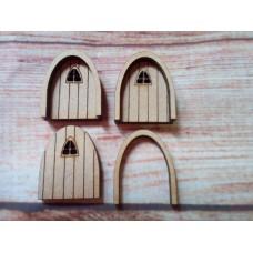 Mini Fairy Door Arched Window PK10